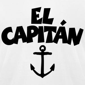 El Capitán Anchor T-Shirt - Men's T-Shirt by American Apparel