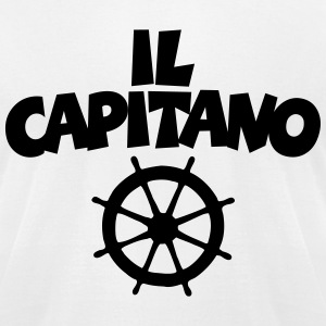 Il Capitano Wheel T-Shirt - Men's T-Shirt by American Apparel