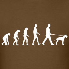 Evolution dog T-Shirts