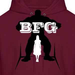 BFG Female Shadow (Big Friendly Giant) Hoodies - Men's Hoodie