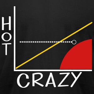KCCO - Hot Crazy Scale T-Shirts - Men's T-Shirt by American Apparel