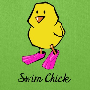 swim_chick Bags & backpacks - Tote Bag