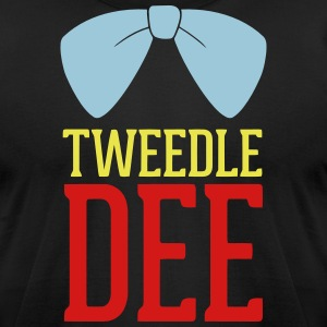 Tweedle Dee T-Shirts - Men's T-Shirt by American Apparel