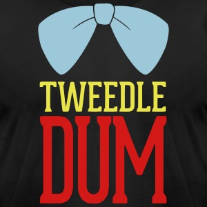 Tweedle Dum T-Shirts - Men's T-Shirt by American Apparel