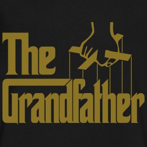 The Grandfather T-Shirts - Men's V-Neck T-Shirt by Canvas