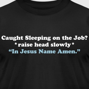Caught Sleeping - Amen T-Shirts - Men's T-Shirt by American Apparel