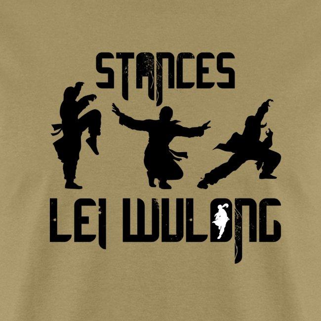 Lei Wulong stances
