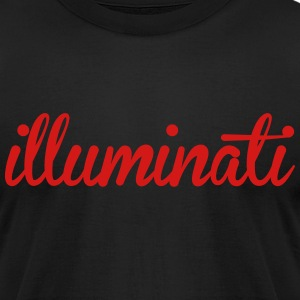 illuminati T-Shirts - Men's T-Shirt by American Apparel