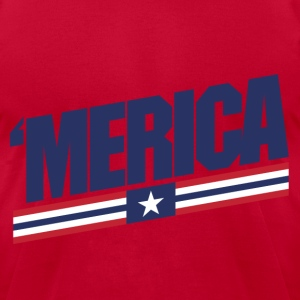 Merica - Men's T-Shirt by American Apparel