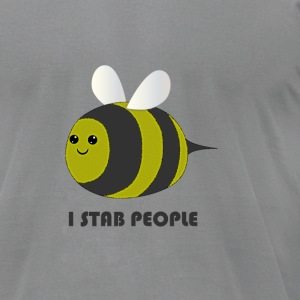 Stabbing Bee - Men's T-Shirt by American Apparel