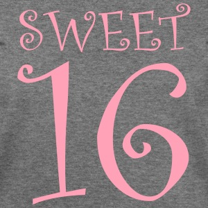 SWEET 16 Long Sleeve Shirts - Women's Wideneck Sweatshirt