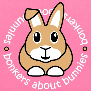 'Bonkers About Bunnies' Tote Shopping Bag - Tote Bag