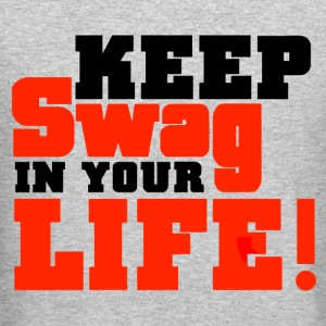 Keep Swag In Your Life Crewneck - Crewneck Sweatshirt