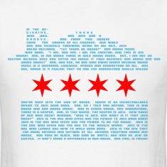 Jack's Chicago Flag - EDM T-Shirts