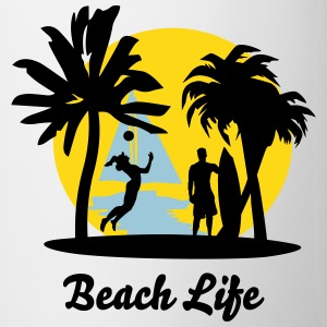 Beach Life Bottles & Mugs - Coffee/Tea Mug