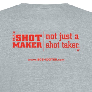 Official 180 Shooter  T-Shirts - Unisex Tri-Blend T-Shirt by American Apparel
