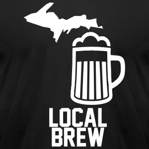 Local Brew T-Shirts - Men's T-Shirt by American Apparel