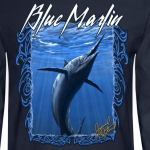Blue Marlin fishing ,long sleeve t-shirt - Men's Long Sleeve T-Shirt