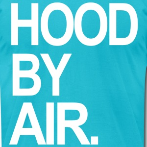 hood by air T-Shirts - Men's T-Shirt by American Apparel