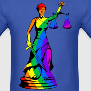Rainbow Justice - Men's T-Shirt