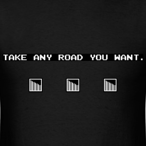 Take Any Road men's T-shirt - Men's T-Shirt