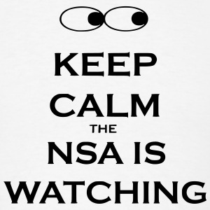 NSA is watching you Shirt - Men's T-Shirt