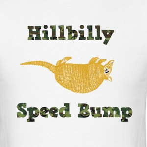 Hillbilly Speed Bump - Men's T-Shirt