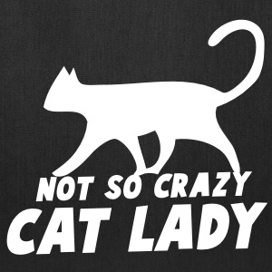 NOT SO CRAZY cat lady - Tote Bag