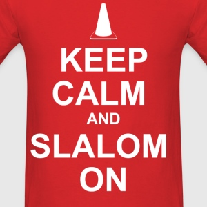 keep_calm_slalom_on T-Shirts - Men's T-Shirt