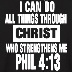 I CAN DO ALL THINGS THROUGH CHRIST  Hoodies - Men's Hoodie