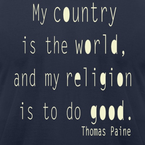 Thomas Paine - My Country is the World