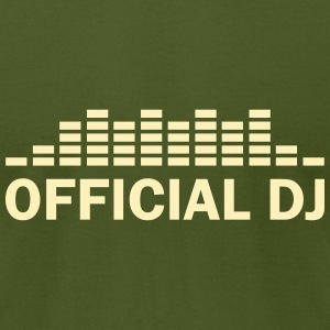 official dj T-Shirts - Men's T-Shirt by American Apparel