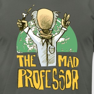 the mad professor - Men's T-Shirt by American Apparel