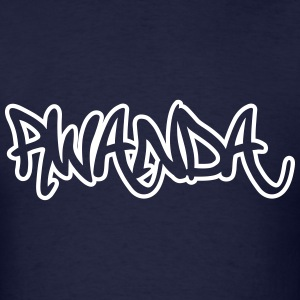 Rwanda Graffiti Outline T-Shirts - Men's T-Shirt