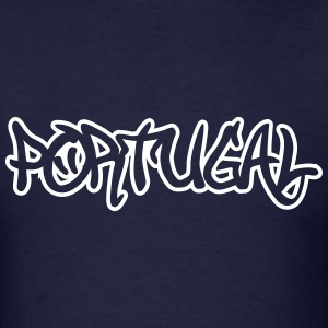 Portugal Graffiti Outline T-Shirts - Men's T-Shirt