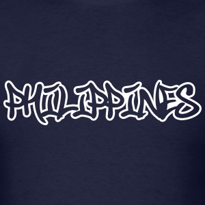 Philippines Graffiti Outline T-Shirts - Men's T-Shirt