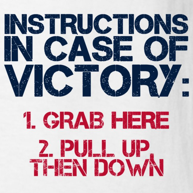 In Case of Victory White