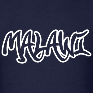 Malawi Graffiti Outline T-Shirts - Men's T-Shirt