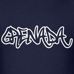 Grenada Graffiti Outline T-Shirts - Men's T-Shirt