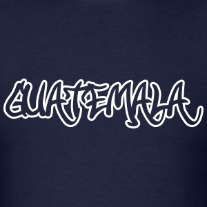 Guatemala Graffiti Outline T-Shirts - Men's T-Shirt