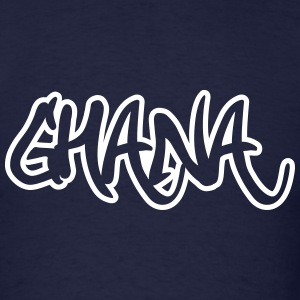Ghana Graffiti Outline T-Shirts - Men's T-Shirt