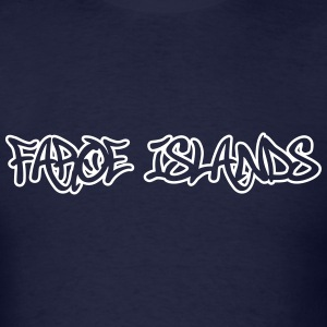 Faroe Islands Graffiti Outline T-Shirts - Men's T-Shirt