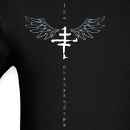 Design ~ Mens offset Logo T with Wings