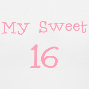 My sweet 16 Sixteen Birthday 1c Women's T-Shirts - Women's V-Neck T-Shirt