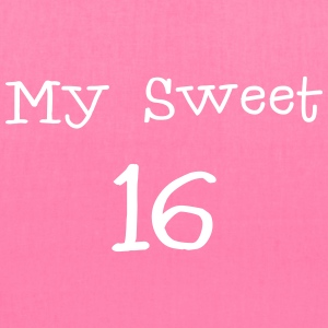 My sweet 16 Sixteen Birthday 1c Bags & backpacks - Tote Bag