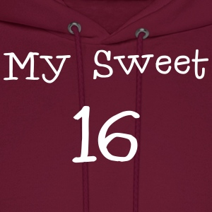 My sweet 16 Sixteen Birthday 1c Hoodies - Men's Hoodie