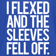 Design ~ I flexed and the sleeves fell off | Womens flowy tank