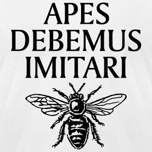 Beekeeper's T-Shirt - Men's T-Shirt by American Apparel
