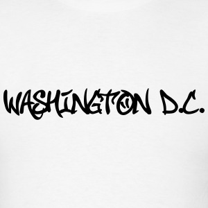 Washington Dc Grafitti T-Shirts - Men's T-Shirt