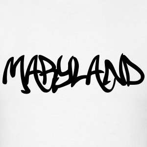 Maryland Grafitti T-Shirts - Men's T-Shirt